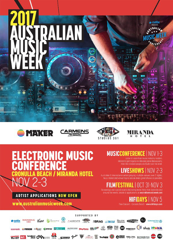 Australian Music Week Returns! - blog post image