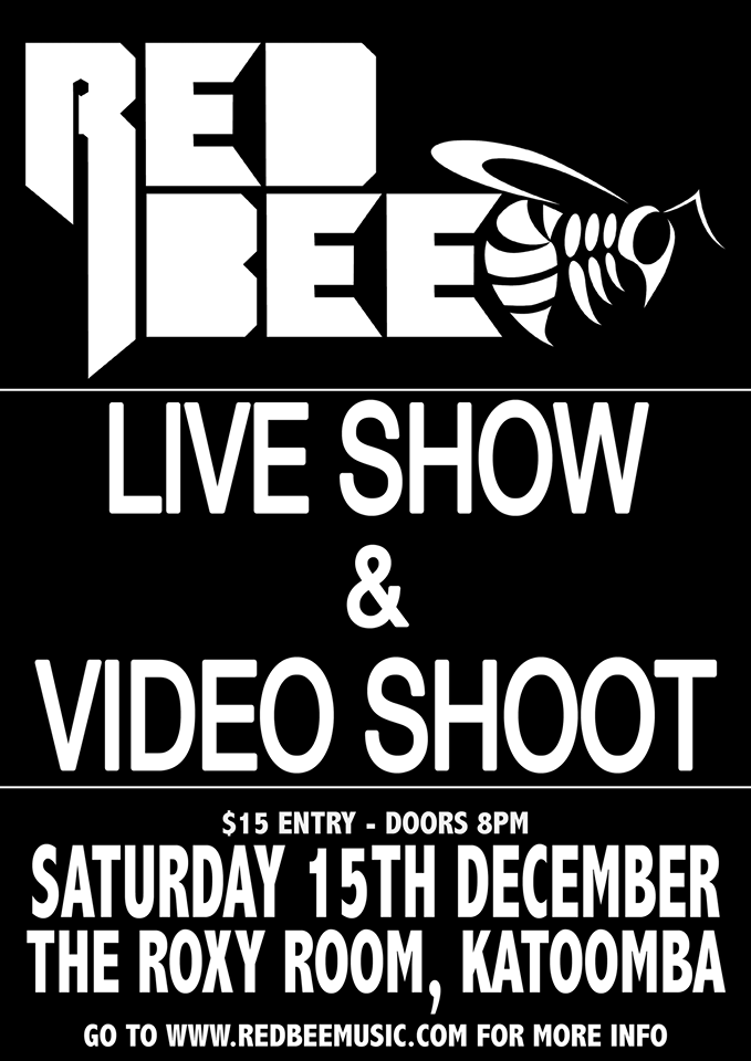 ​ Join Red Bee's live show + music video shoot - blog post image