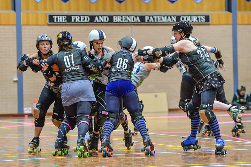 Blue Mountains Roller Derby in Battlegrounds - blog post image