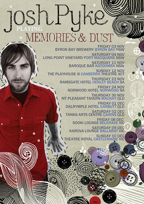 Josh Pyke to perform at Katoomba before hanging up his boots at the end of the year - blog post image